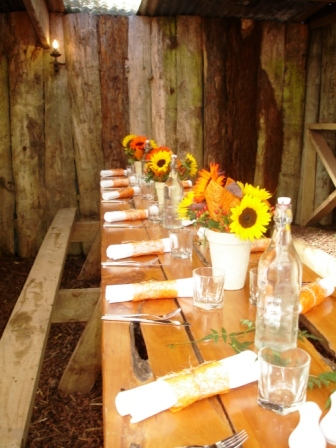 Country Theme Table